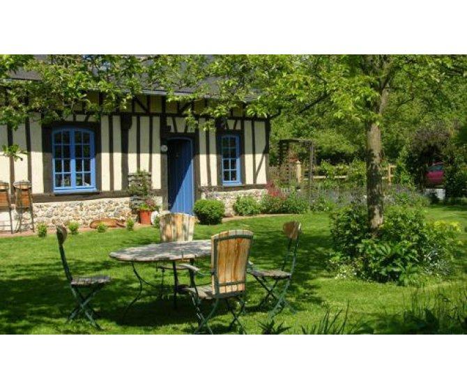 Chambres d 39 h tes des hauts vents h tels colodge for Jardin jardinier normandie